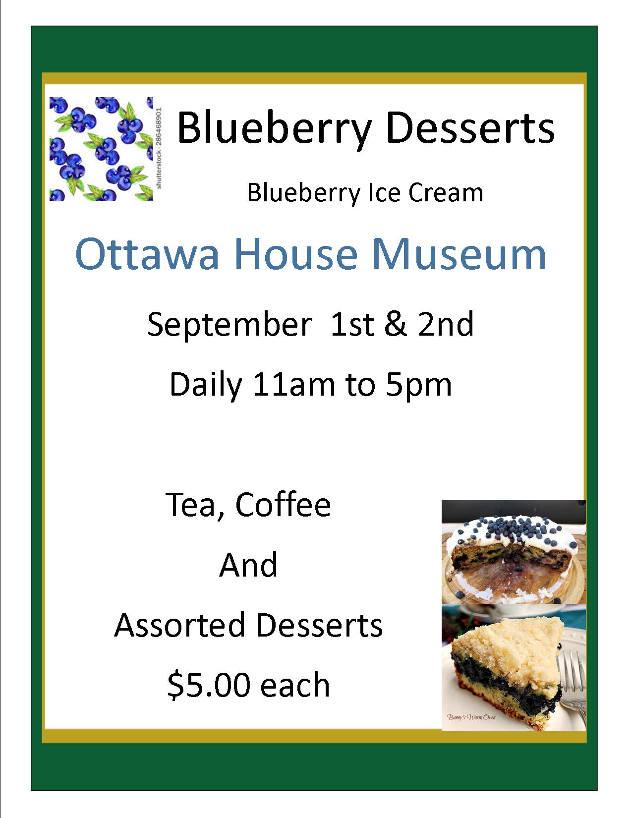 Blueberry Desserts 2018