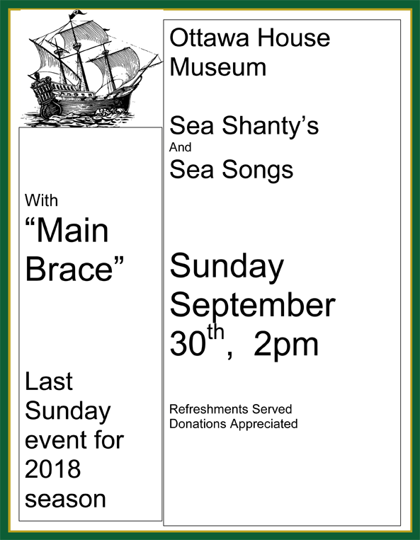 Sea Shanty's and Sea Stories